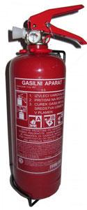 gasilni aparat na prah - 9kg