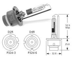 Žarnica d2r 35w xenon - osram