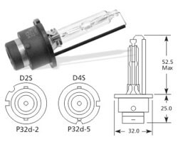 Žarnica d2s 35w xenon - osram