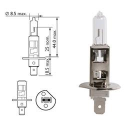 Žarnica 12v h1 55w p14,5s - lucas