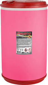 paulina antifriz g12+ -38 roza 200l