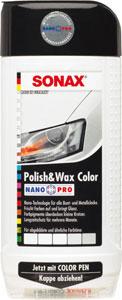 sonax barvna politura+vosek nanopro bela 500ml