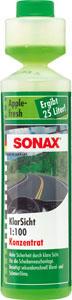 sonax koncentrat za čiščenje vetrobranskega stekla 1:100 jabolko 250ml