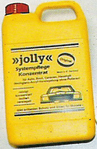 polirna voda - jolly, 500 ml
