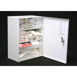 omarica za prvo pomoč - kovinska omarica napolnjena z vsebino - za poslovne prostore