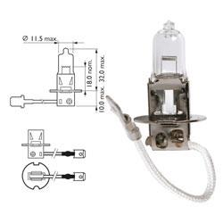 Žarnica 12v h3 55w pk22s - lucas