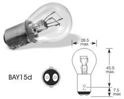 Žarnica 12v p21/5w bay15d - lucas