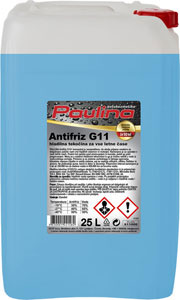 paulina antifriz g11 koncentrat moder 25l