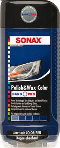 sonax barvna politura+vosek nanopro modra 500ml