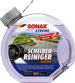 sonax xtreme letno čistilo za vetrobransko steklo poletje 3l