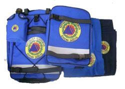 komplet za civilno zaščito - nahrbtnik+dodatna oprema